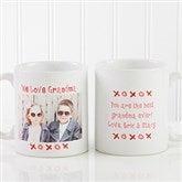 Loving You Personalized Photo Coffee Mug 11 oz.- White - 9847-S