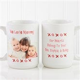 Loving You Personalized Photo Coffee Mug 15 oz.- White - 9847-L