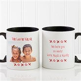 Loving You Personalized Photo Coffee Mug 11 oz.- Black - 9847-B