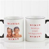 Loving You Personalized Photo Coffee Mug 11 oz.- Black - 9847-B