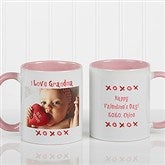 Loving You Personalized Photo Coffee Mug 11 oz.- Pink - 9847-P
