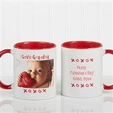 Loving You Personalized Photo Coffee Mug 11 oz.- Red - 9847-R