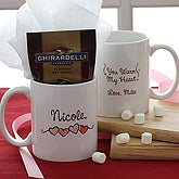 You Warm My Heart Ghiradelli® Hot Cocoa Mug- 11 oz. - 9849-S