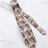 Photo Collage Personalized Men's Tie - 9888