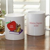 Teddy Bear Personalized Teacher Mug- 11 oz - 9902-S