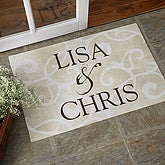Sentiments of the Home Doormat for Couples - 9927-C