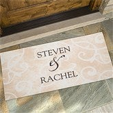 Sentiments of the Home© Oversized Doormat for Couples - 9927-C-O