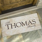 Sentiments of the Home Oversized Doormat for Family - 9927-F-O