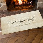 Live, Love, Laugh Personalized Oversized Doormat - 9928-O
