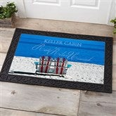 Rest, Relax & Unwind Personalized Doormat- 20x35 - 9930-M