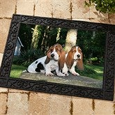 Picture It! Photo Personalized Recycled Rubber Back Doormat - 9979