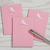 Personalized Kids Mini Notepad Set - Alphabet Fun - 16500
