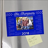 Personalized Photo Calendar Refrigerator Magnet - 16505