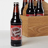 Personalized Beer Bottle Labels - Valentine's Day - Beloved Brew - 16507
