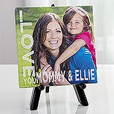 Personalized Tabletop Photo Canvas Print - Loving Her - 16538