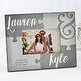 Missing Piece To My Heart Personalized Picture Frame - 16579