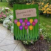 Grandma's Garden Personalized Garden Flag - 16581