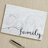 Personalized Photo Notepads - Family Favorite - 16611