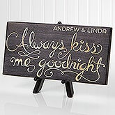 Personalized Tabletop Canvs Prints - Romantic Message - 16634