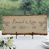 Personalized Basswood Plank Sign - Write Your Own - 16639