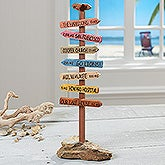 Personalized Memory Marker Sculpture - Live Is A Journey - 16654D