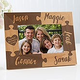 Together We Make A Family Personalized Puzzle Picture Frames - 16685
