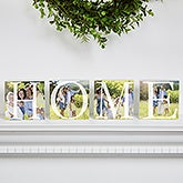 Personalized Photo Shelf Blocks - Home - 16687