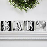 Personalized Photo Shelf Block Set - Baby - 16688