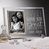 Personalized Glass Picture Frames - Loving Words To Her - 16710