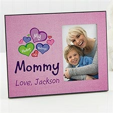 Personalized Picture Frames - My Heart Belongs To - 16711