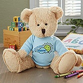 Personalized Get Well Teddy Bear - 16722