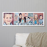 Family Photos Personalized Canvas Print - 16726