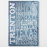 Personalized Canvas Print - Just Us - 16730