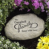 Personalized Family Garden Stone - For Infinity  - 16742