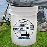 Personalized Fishing Cooler - Bait Bucket - 16745