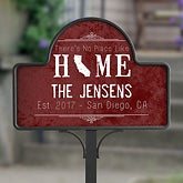 Personalized Garden Stake With Magnet - State Of Love - 16756