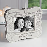 Best Friend Mom Personalized 5x7 Picture Frame Block - 16761