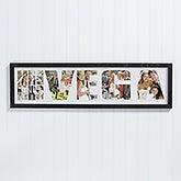 Personalized Wedding Photo Collage Frame - Mr. & Mrs. - 16766