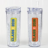 Personalized Graduation Acrylic Insulated Tumbler  - Class Of - 16771