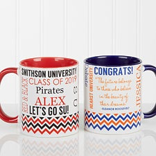 Personalized Graduation Coffee Mug - School Memories - 16775