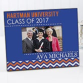 Personalized Graduation Chevron Picture Frame - Class Of - 16776