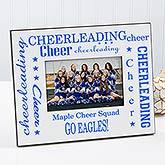 Personalized Cheerleading Photo Frame  - 1679