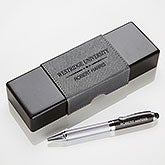 Collegiate Personalized IT Pen Case and Stylus Pen Set - 16800