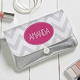 Personalized Wristlet - Chevron - 16812