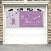 Personalized Baby Shower Banner - Baby Zoo Animals - 16817