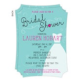 Personalized Bridal Shower Invitations - The Dress - 16824