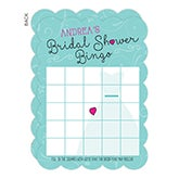 Personalized Bridal Shower Bingo Cards - The Dress - 16832