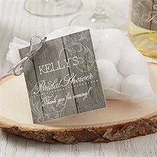 Personalized Gift Tags - Rustic Bridal Shower - 16840