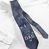 Personalized Tie - Reasons Why - 16861