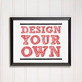 Design Your Own Personalized Wall Plaque - 16914